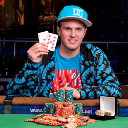 Kelly is the fifth-youngest player in WSOP history to win a WSOP bracelet