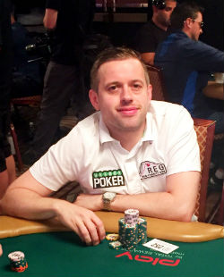 Kenny Hallaert is making a habit of contending at the WSOP Main Event.