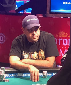 Kevin Rand, a copy editor from Texas, bowed out in 84th place at the WSOP Main Event on Thursday.