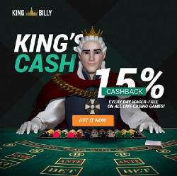 King Billy Casino is a new generation online casino available in six languages.