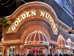 Las Vegas sportsbooks like the one downtown at Golden Nugget love the fact that the college football playoff games will be played on Dec. 31st this season.