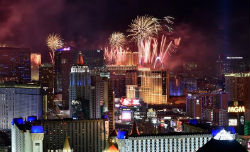 Las Vegas visitors can give 2019 a proper farewell with exciting events.