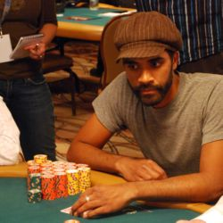 Manoj Viswanathan is the chip leader after Day 4 of the World Series of Poker Main Event. He ended the day with 2.115 million in chips.