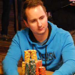 Marc McLaughlin is second in chips with 6.695 million.
