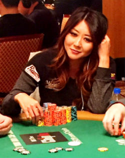 Maria Ho says that amateurs typically either get involved with too many pots, or they play too tight.