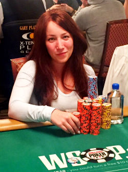 Melanie Weisner made a deep run at the 2016 WSOP Main Event, and is rooting for Kenny Hallaert or Griffin Benger to prevail at the final table.