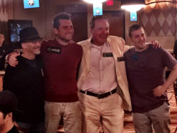 Members of the 2015 WSOP Main Event final table enjoyed a reunion at the Rio this week.