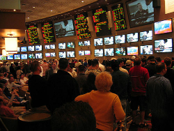 The sportsbook at MGM Grand