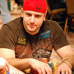 Michael Mizrachi before he put on the Full Tilt gear