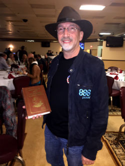 """Neil Blumenfield arrived at the Poker Hall of Fame ceremony with his original copy of """"Super System,"""" hoping he could get Doyle Brunson to sign it."""