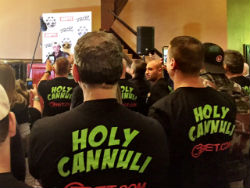 New Jersey native Tom Cannuli had a boisterous fan base in Las Vegas rooting him on at the WSOP Main Event final table.