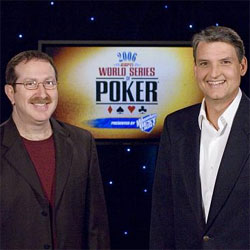 Norman Chad and Lon McEachern will be back together in the TV booth at the 2021 World Series of Poker.