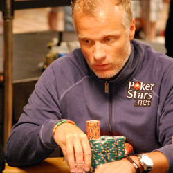 One hand changed the course of the Main Event for Theo Jorgensen