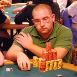 Patrick Poirier is the chip leader at the WSOP Main Event. He has 1.328 million in chips.