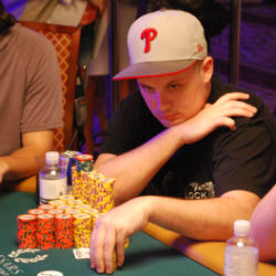 Paul Volpe was the first player to crack the 3-million chip mark at this year