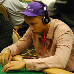 Phil Ivey dominated play Monday and is one of the chip leaders heading into Day 2 action.