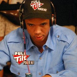 Phil Ivey was the main attraction on Day 1D and will return on Saturday.