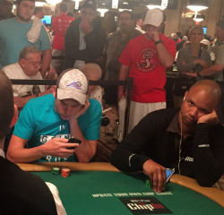 Players like Phil Ivey can get bored during the daily grind of playing poker, while others constantly check their iPhones to kill time.