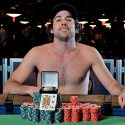Poker player gone wild: Lefrancois wins at WSOP.