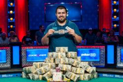 Scott Blumstein is the 2017 WSOP Main Event champion.