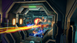 Singularity pits players against rogue robots and the forces of gravity.