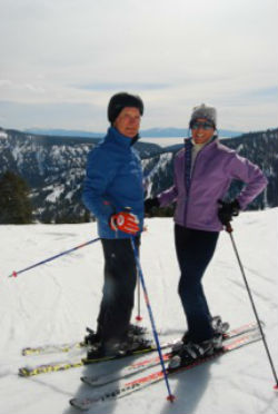 Spivock enjoys skiing in addition to poker.