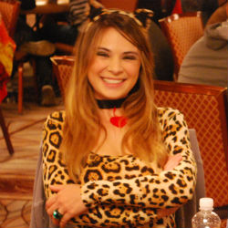 Tatjana Pasalic brought a splash of color to the World Series of Poker after losing a prop bet to her boyfriend.