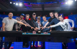 The 2016 WSOP Main Event final table will be played back in Las Vegas beginning on Oct. 30. <em>photo by Joe Giron/WSOP</em>