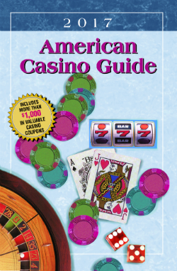 The 2017 American Casino Guide