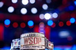 The 2018 WSOP Main Event bracelet
