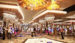 The casino floor.