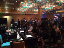 The eSports lounge at the Downtown Grand Las Vegas