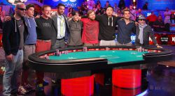 The final table for the WSOP Main Event is set.