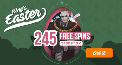The first pack of 35 free spins will be added immediately.