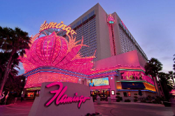 The Flamingo still stands on its original 15-acre plot of land.