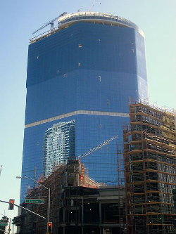 The Fontainebleau is a sad sight, soon to be sad no longer.