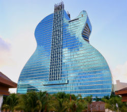 The iconic Guitar Hotel at Seminole Hard Rock Hotel and Casino Hollywood has officially opened