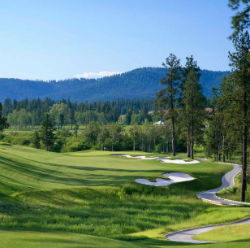 The layout at Circling Raven Golf Club in Idaho is as good as it gets, especially on the eighth hole.