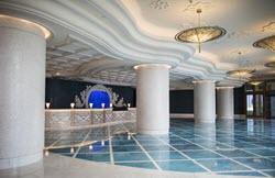 The lobby of Baha Mar.