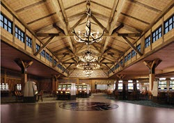 The lobby of Point Place Casino.