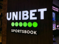 The new 1,130-square-foot Unibet Sportsbook at Mohegan Sun Pocono will be open daily from 11 am to midnight.