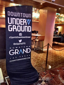The new eSports lounge at the Downtown Grand is the first of its kind in Las Vegas.
