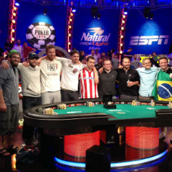 The November Nine will play for a $10 million first-place prize at the Main Event final table.