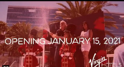 The revitalized property will open as Virgin Hotels Las Vegas on 15 January 2021.