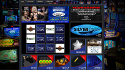 The SilverPASS homepage