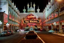 The Trump Taj Mahal.