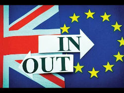 The vote by the U.K. to leave the EU was a shock to pundits, bookmakers and bettors. (photo courtesy of YouTube)