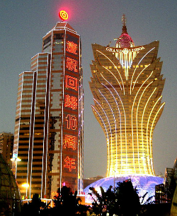 They keep telling me that Grand Lisboa is a lotus flower and I keep not listening.