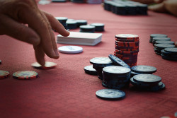 Thin value betting means betting in a situation where you do not have a very strong hand.