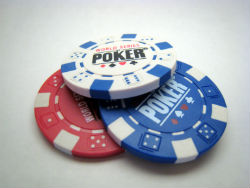 Tipping the dealers is common poker etiquette in most rooms.